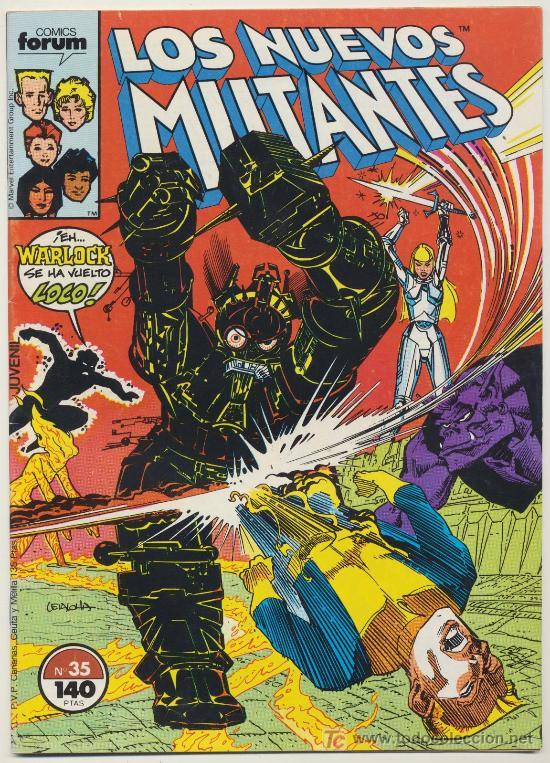 LOS NUEVOS MUTANTES Nº 35 (Tebeos y Comics - Forum - Nuevos Mutantes)