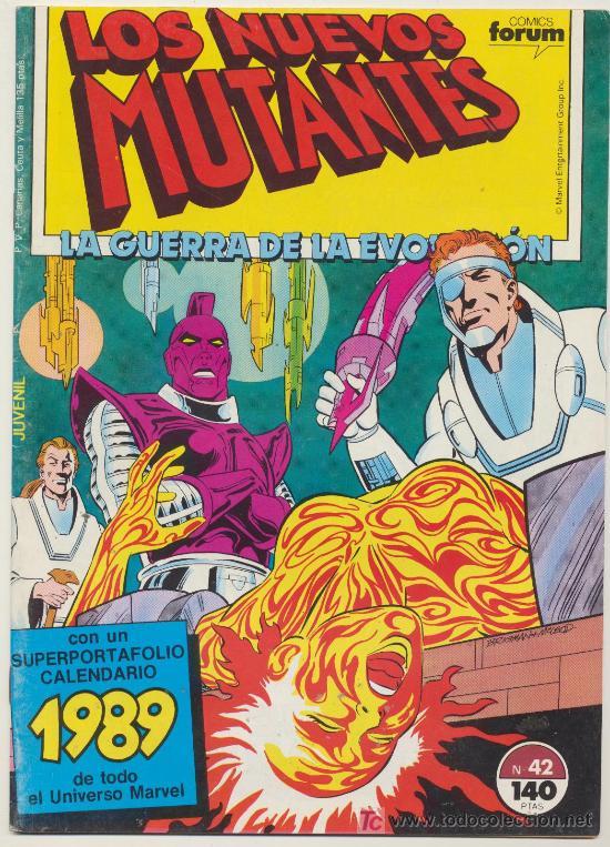 LOS NUEVOS MUTANTES Nº 42 (Tebeos y Comics - Forum - Nuevos Mutantes)
