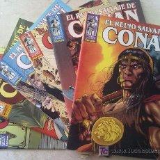 Cómics: EL REINO SALVAJE DE CONAN NºS 1 AL 6. Lote 27206711