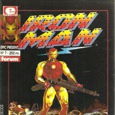 Cómics: IRON MAN CRASH 2 NUMEROS COMPLETA LA PRIMERA NOVELA GRAFICA REALIZADA POR ORDENADOR. Lote 19548394