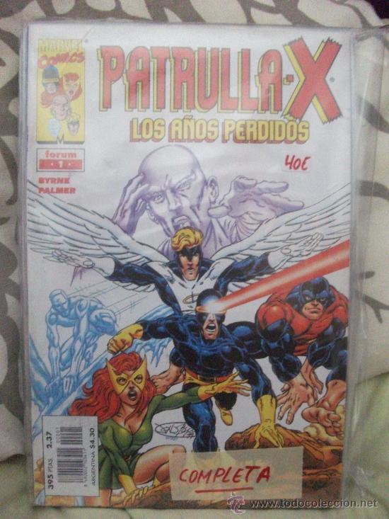 LA PATRULLA X LOS AÑOS PERDIDOS COMPLETA (Tebeos y Comics - Forum - Patrulla X)