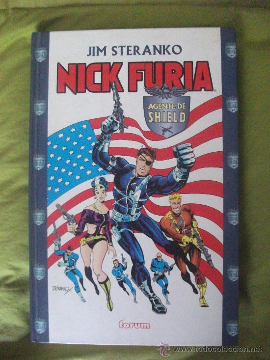 NICK FURIA AGENTE DE SHIELD POR JIM STERANKO TOMO (Tebeos y Comics - Forum - Prestiges y Tomos)