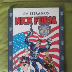 Cómics: NICK FURIA AGENTE DE SHIELD POR JIM STERANKO TOMO. Lote 84780118