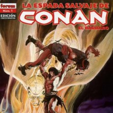 Cómics: ESPADA SALVAJE DE CONAN EDICION COLECCIONISTA COMPLETA (85 NÚMEROS). Lote 19644938