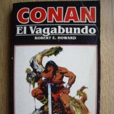 Cómics: NOVELA CONAN EL VAGABUNDO. Nº 4. ROBERT E. HOWARD. EDICIONES FORUM. Lote 27442044