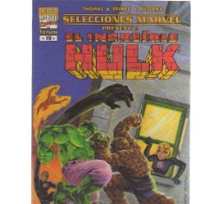 Cómics: EL INCREIBLE HULK Nº 19 FORUM (SELECCIONES MARVEL) - CJ38. Lote 20110383