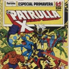 Cómics: LA PATRULLA X ESPECIAL PRIMAVERA - ED FORUM 1989. Lote 20111485