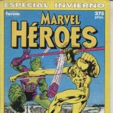 Cómics: MARVEL HÉROES- ESPECIAL INVIERNO - ED FORUM 1990. Lote 20111700