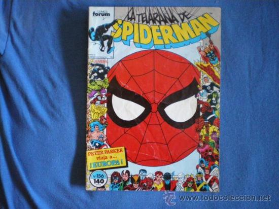SPIDERMAN Nº 156 MICHELINIE SILVESTRI 1988 MARVEL FORUM D1 (Tebeos y Comics - Forum - Spiderman)
