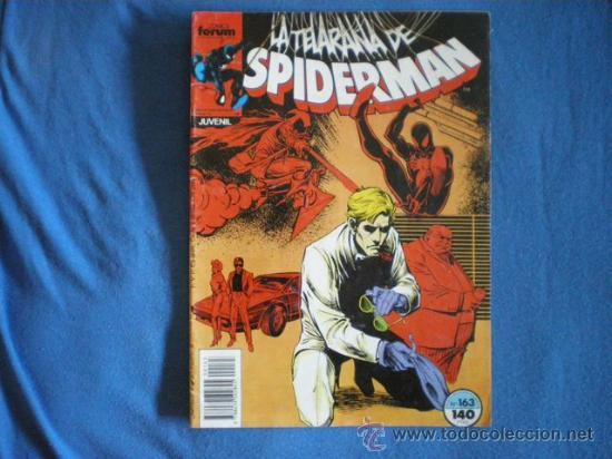 SPIDERMAN Nº 163 OWSLEY GEIGER 1988 MARVEL FORUM D1 (Tebeos y Comics - Forum - Spiderman)