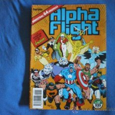 Cómics: ALPHA FLIGHT Nº 37 MANTLO ROSS 1986 APARICION DE LOS VENGADORES MARVEL FORUM D1. Lote 22664356