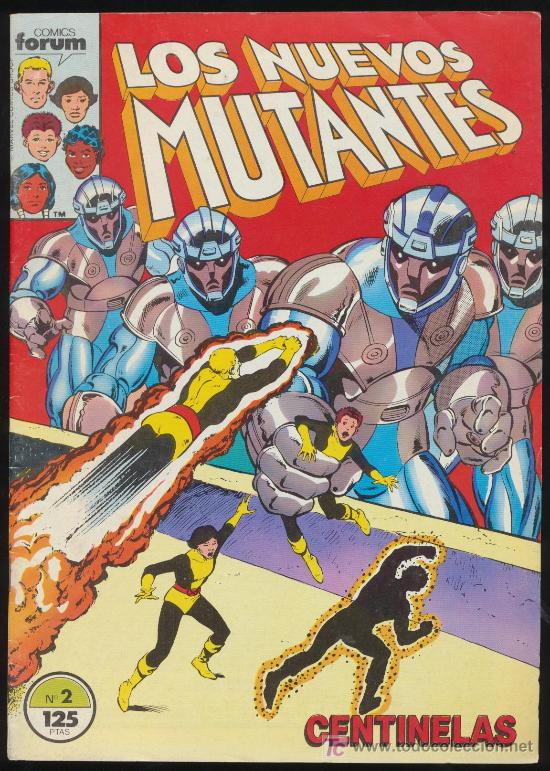 LOS NUEVOS MUTANTES Nº 3. (Tebeos y Comics - Forum - Nuevos Mutantes)