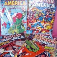Cómics: LOTE COMICS CAPITAN AMERICA - FORUM - (8 NUMEROS). Lote 26699680