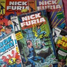 Cómics: LOTE CON LOS PRIMEROS 5 NUMEROS DE NICK FURIA CONTRA SHIELD - FORUM. Lote 26699681