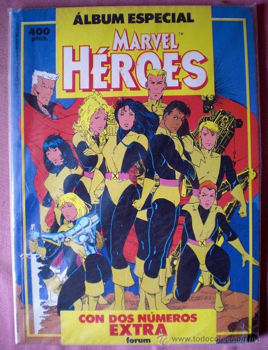 ALBUM ESPECIAL MARVEL HEROES (NUEVOS MUTANTES, ESTELA PLATEADA...) FORUM (Tebeos y Comics - Forum - Nuevos Mutantes)