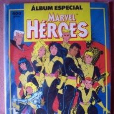 Cómics: ALBUM ESPECIAL MARVEL HEROES (NUEVOS MUTANTES, ESTELA PLATEADA...) FORUM. Lote 26790708