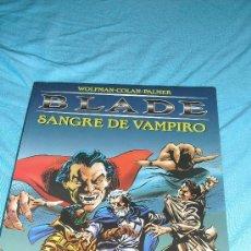 Cómics: BLADE SANGRE DE VAMPIRO - FORUM 1998 - MARV WOLFMAN & GENE COLAN - LA TUMBA DE DRACULA. Lote 37168647