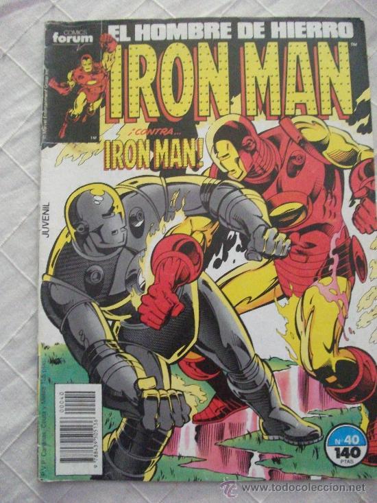 IRON MAN Nº 40 COMICS FORUM (Tebeos y Comics - Forum - Iron Man)