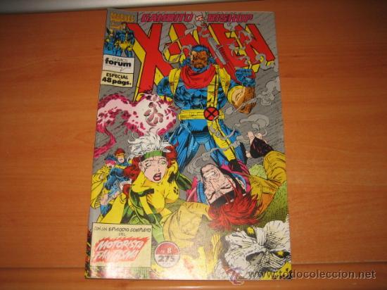 X-MEN Nº 8 CON UN EPISODIO COMPLETO DEL MOTORISTA FANTASMA (Tebeos y Comics - Forum - X-Men)