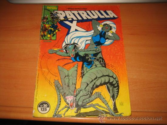 LA PATRULLA X Nº 20 (Tebeos y Comics - Forum - Patrulla X)