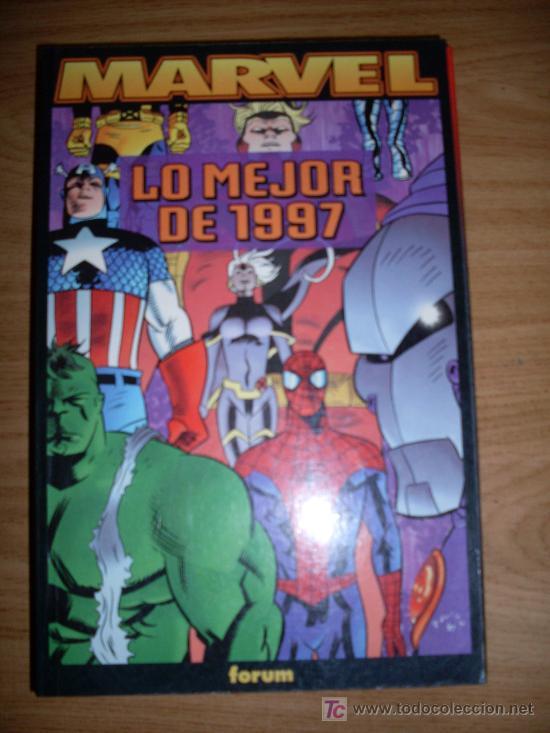 EDICIONES FORUN LIBRO COMIC MARVEL LO MEJOR DE 1997 (Tebeos y Comics - Forum - Otros Forum)