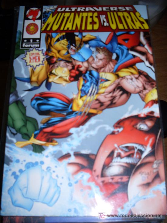 EDICIONES FORUM ULTRAVERSE MUTANTES VS. ULTRAS TOMO 1 Y TOMO 2 (Tebeos y Comics - Forum - Prestiges y Tomos)