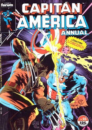 CAPITÁN AMÉRICA VOL 1 COMPLETA - 76 NºS - MARVEL TWO IN ONE CON THOR - Y VOL 2 13 NÚMEROS (Tebeos y Comics - Forum - Capitán América)