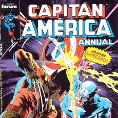 Cómics: CAPITÁN AMÉRICA VOL 1 COMPLETA - 76 NºS - MARVEL TWO IN ONE CON THOR - Y VOL 2 13 NÚMEROS. Lote 32886189