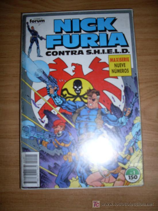 Cómics: FORUM NICK FURIA CONTRA S.H.I.E.L.D. COMPLETA NORMAL ESTADO - Foto 1 - 20688062