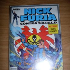 Cómics: FORUM NICK FURIA CONTRA S.H.I.E.L.D. COMPLETA NORMAL ESTADO. Lote 20688062