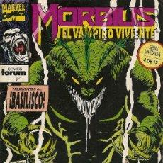 Cómics: MORBIUS, EL VAMPIRO VIVIENTE Nº 4. Lote 20836501