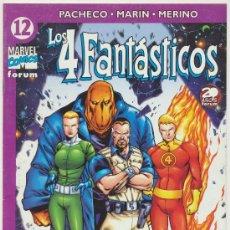 Cómics: LOS 4 FANTÁSTICOS Nº 12.. Lote 20860593
