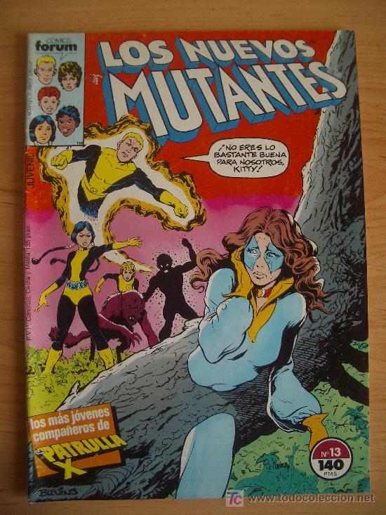 LOS NUEVOS MUTANTES Nº13. LITERACOMIC. (Tebeos y Comics - Forum - Nuevos Mutantes)