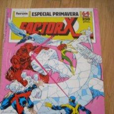 Cómics: FACTOR X, ESPECIAL PRIMAVERA. . Lote 21052886