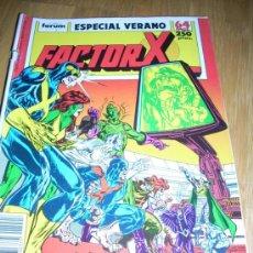 Cómics: FACTOR X, ESPECIAL VERANO 1989. . Lote 21052922