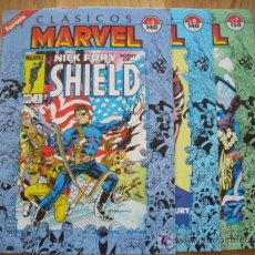 Cómics: CLASICOS MARVEL 5, 6 Y 7 - NICK FURIA, SHIELD (MARVEL). . Lote 22608917