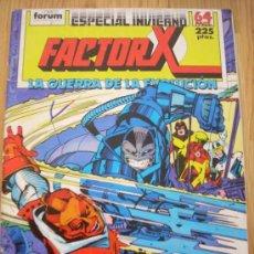 Cómics: FACTOR X, ESPECIAL INVIERNO - LA GUERRA DE LA EVOLUCIÓN - 64 PÁGINAS. Lote 21073865