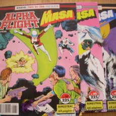 Cómics: ALPHA FLIGHT & LA MASA - Nº 39, 40, 41 - . Lote 24875039