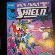 Comics: NICK FURIA AGENTE DEL SHIELD Nº 2 FORUM ....C5. Lote 23290905
