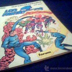 Cómics: LOS 4 FANTASTICOS. MARVEL BOOKS. SUPERCOLOREABLES Nº 2. FORUM, 1989.. Lote 8699472