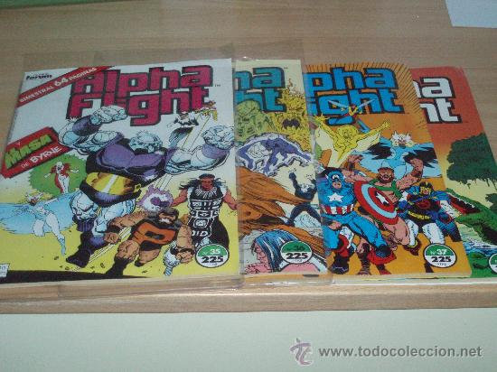 ALPHA FLIGHT FORUM VOL.1 LOTE 4 NUMEROS (Tebeos y Comics - Forum - Alpha Flight)