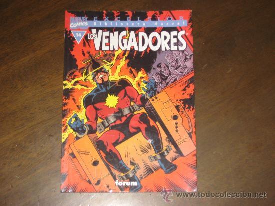 BIBLIOTECA MARVEL - LOS VENGADORES Nº 14 (Tebeos y Comics - Forum - Vengadores)
