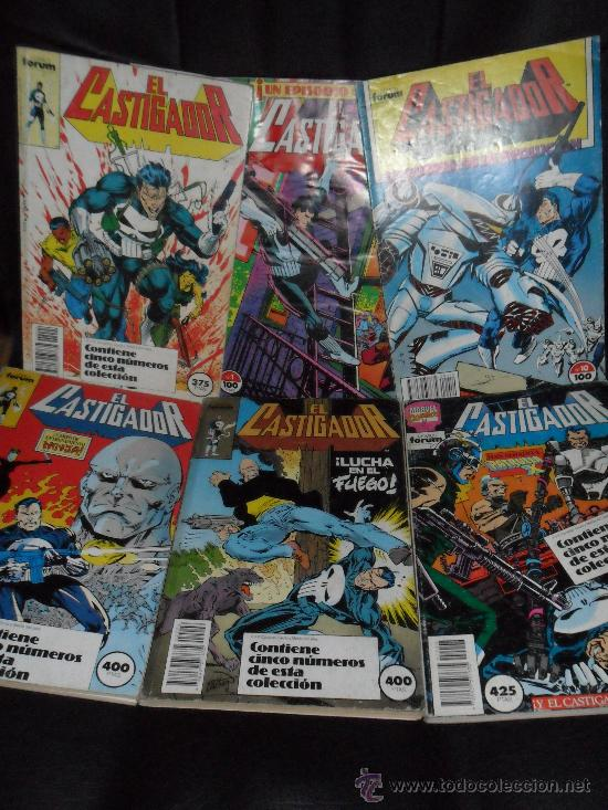 EL CASTIGADOR PUNISHER V.1 , GRAN LOTE (Tebeos y Comics - Forum - Otros Forum)
