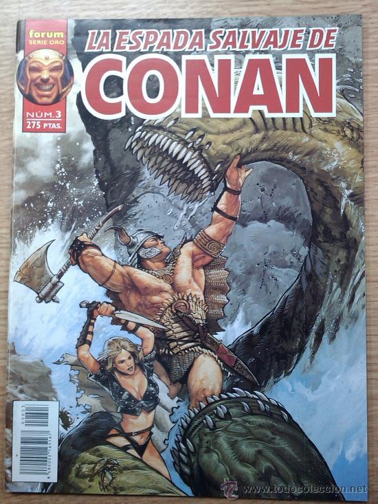 ESPADA SALVAJE DE CONAN VOL 2 #3 (Tebeos y Comics - Forum - Conan)