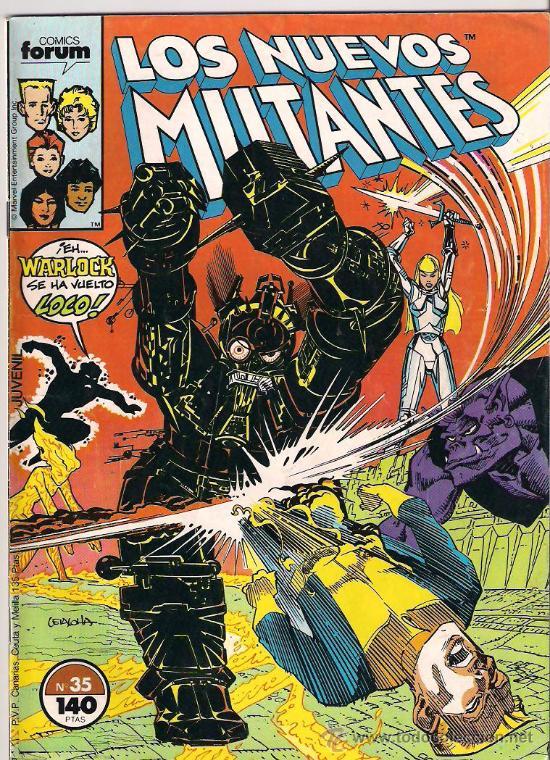 LOS NUEVOS MUTANTES . Nº 35 (Tebeos y Comics - Forum - Nuevos Mutantes)