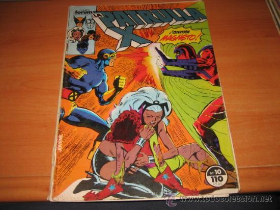 LA PATRULLA X Nº 10 (Tebeos y Comics - Forum - Patrulla X)