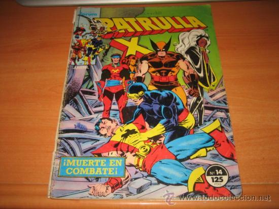 LA PATRULLA X Nº 14 (Tebeos y Comics - Forum - Patrulla X)