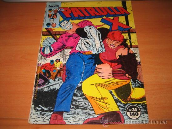 LA PATRULLA X Nº 35 (Tebeos y Comics - Forum - Patrulla X)