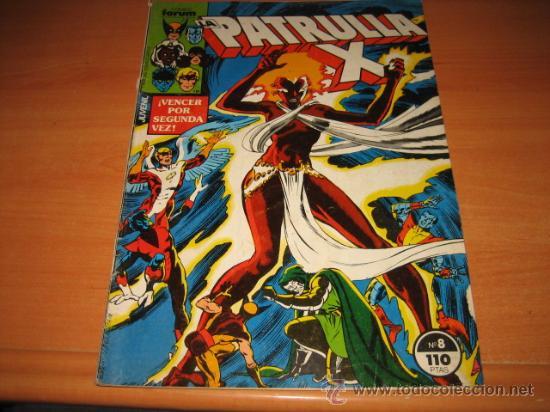 LA PATRULLA X Nº 8 (Tebeos y Comics - Forum - Patrulla X)