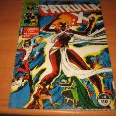 Cómics: LA PATRULLA X Nº 8. Lote 25285843